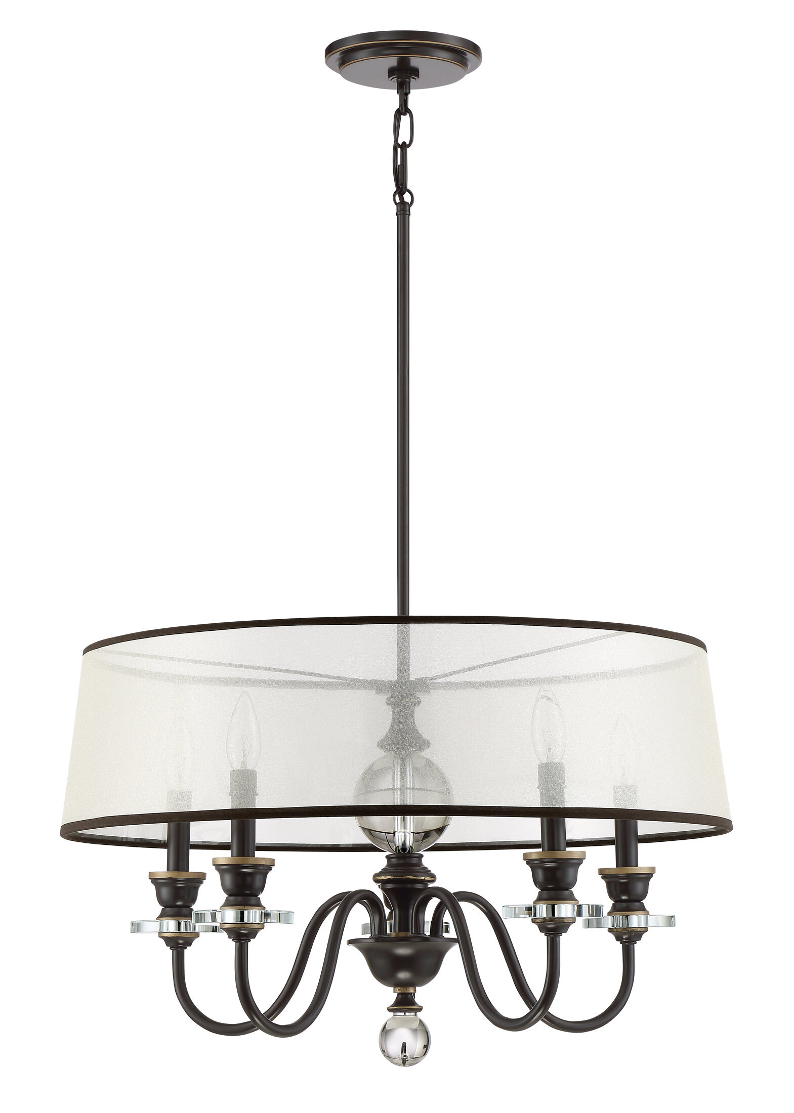 Darby Home Co Ellisurg 5 Light Drum Chandelier & Reviews