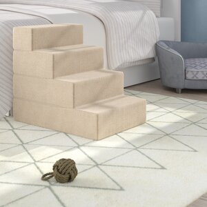 Dashiel Comfort Foam 4 Step Pet Stair