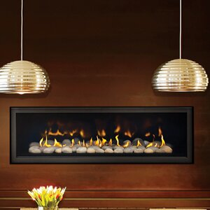 Direct Vent 5th Avenue Linear Wall Mounted Dual Fuel Fireplace