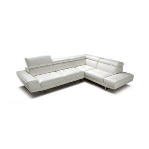 Cana Leather Reclining Sectional by Orren El..