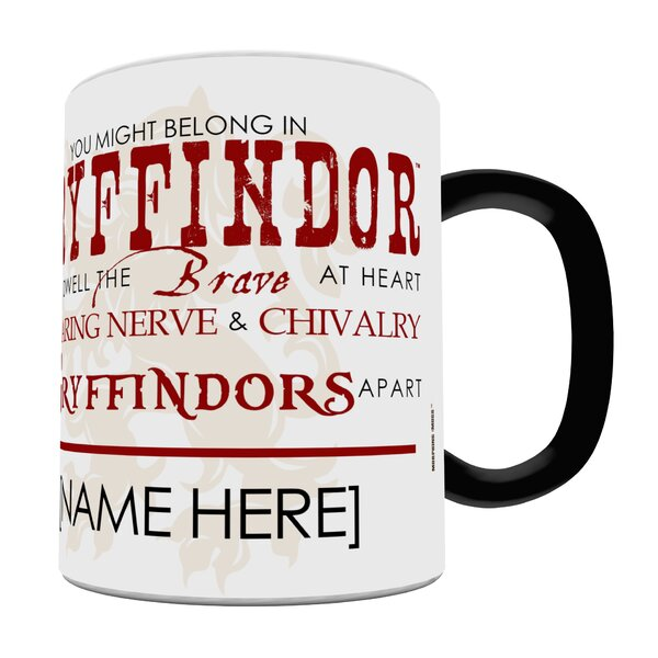 Morphing Mugs Harry Potter Sorting Hat Gryffindor