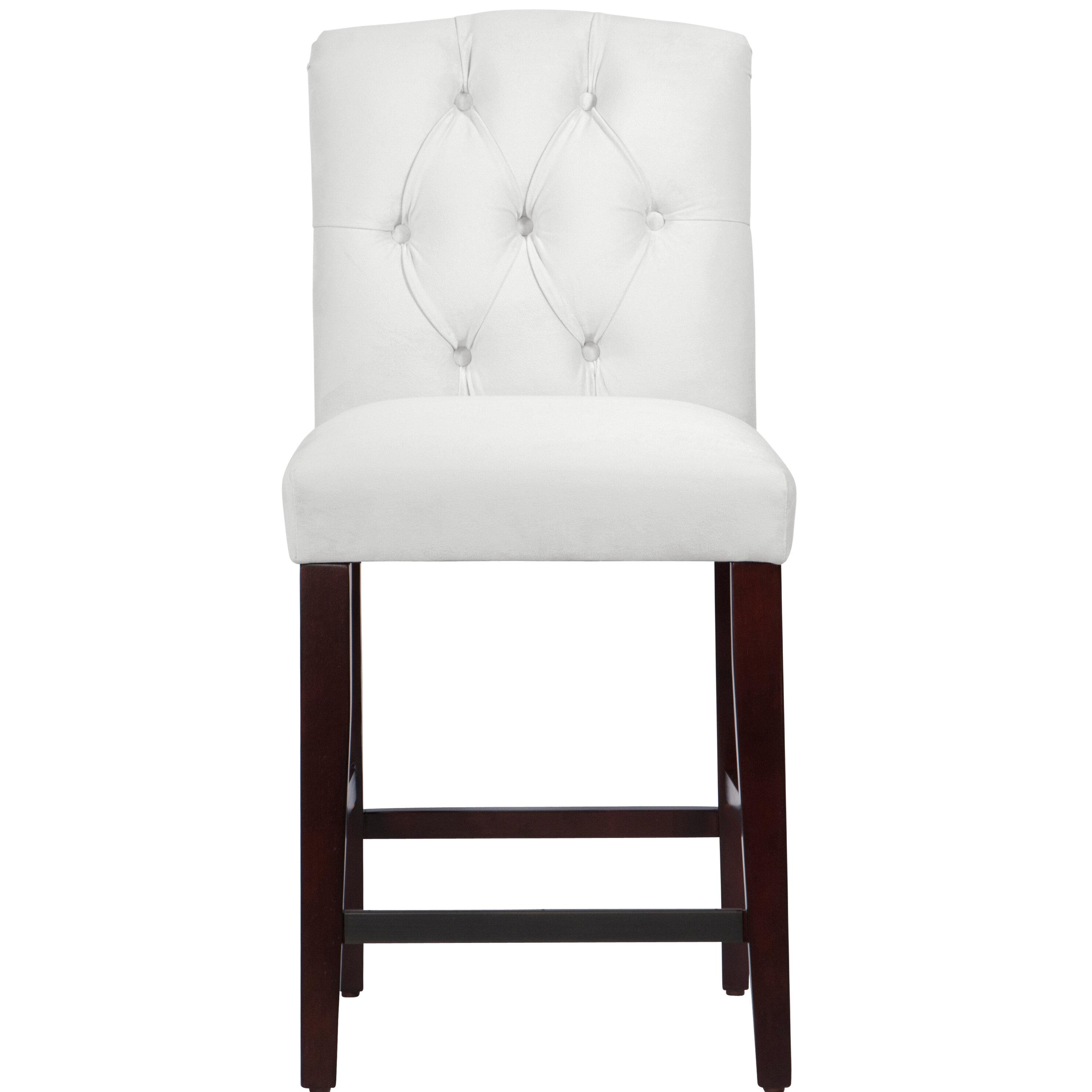 Darby home co cyrus tufted bar stool wayfair