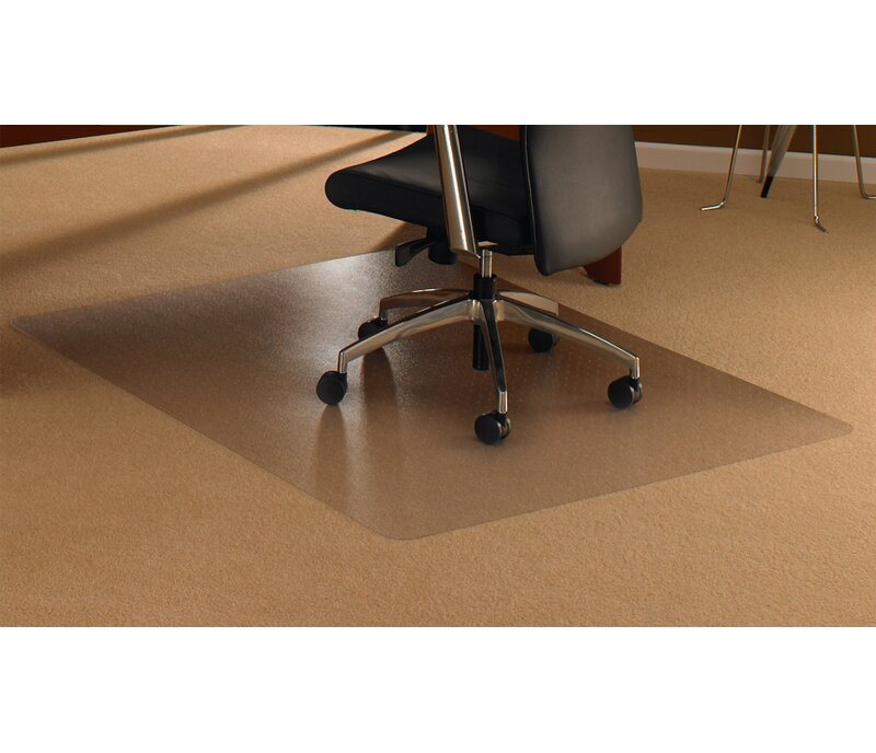 Cleartex High Pile Carpet Straight Edge Chair Mat  sc 1 st  Wayfair & FLOORTEX Cleartex High Pile Carpet Straight Edge Chair Mat u0026 Reviews ...