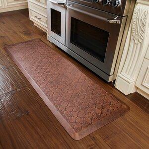 Motif Trellis Antique Kitchen Mat