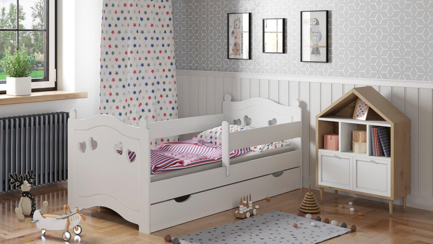 m bel concept kinderbett mariela mit matratze und schublade bewertungen. Black Bedroom Furniture Sets. Home Design Ideas
