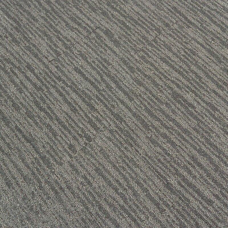 "Dynamic Vision 9"" x 36"" Level Cut and Loop Carpet Tile"