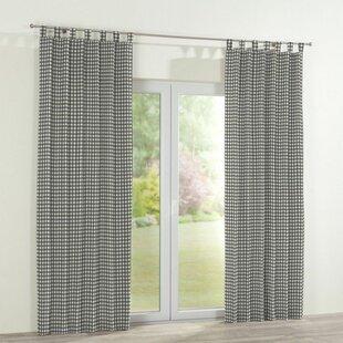 gardinen vorh nge muster tartan aufh ngung schlaufen. Black Bedroom Furniture Sets. Home Design Ideas