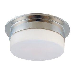 bathroom flush mount lighting wayfair