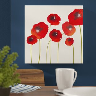 Poppy Canvas Wayfair Co Uk