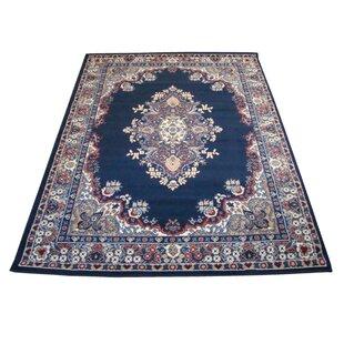 Craignamaddy Persian Blue Rug by Rosalind Wheeler