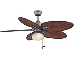 1-Light Bowl Ceiling Fan Light Kit