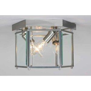 Kinsley 3-Light Ceiling Fixture Flush Mount