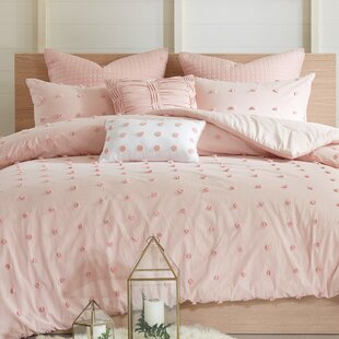Genial Pink Sparkle Comforter Set | Wayfair