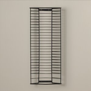 28 DVD Multimedia Wire Rack by Symple Stuff