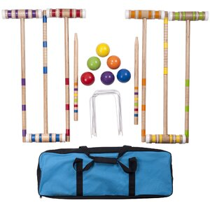 24 Piece Croquet Set