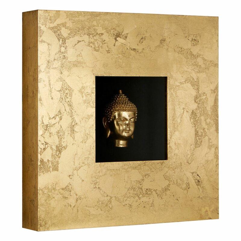 Castleton Home Framed Buddha Wall Décor & Reviews | Wayfair.co.uk