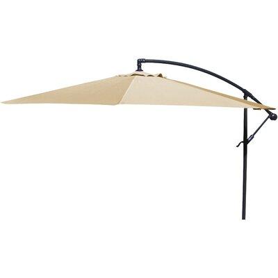 Brayden Studio Trotman 10' Cantilever Umbrella Fabric: Khaki