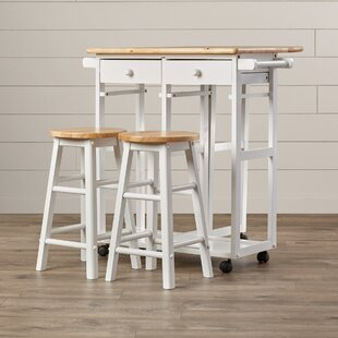 Wimborne 3 Piece Kitchen Island Set
