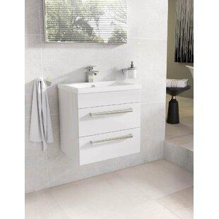 Whitfield 515mm Wall Mount Vanity Unit by Belfry Bathroom