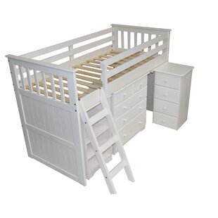 Cabin Single Mid Sleeper Bed by Just Kids