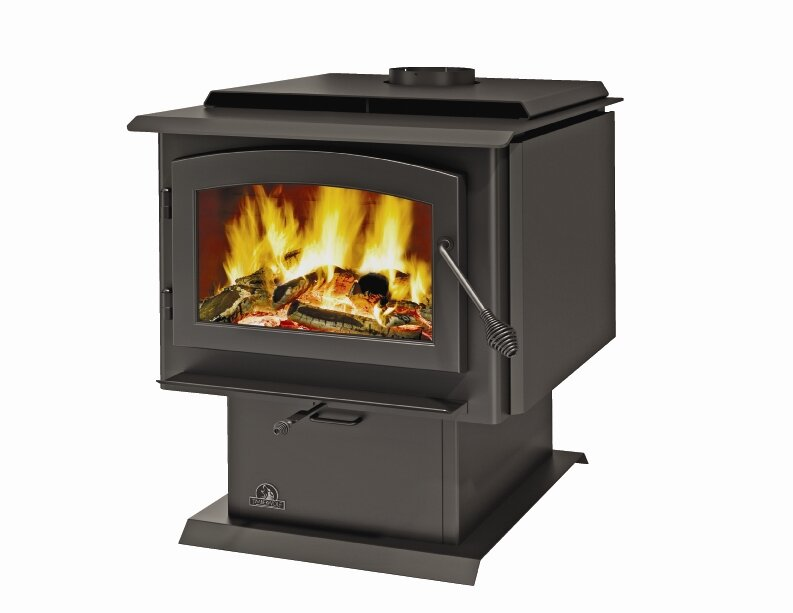 TR001 Defender EPA-Approved Wood Stove with Blower and