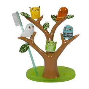 Give a Hoot Toothbrush Holder
