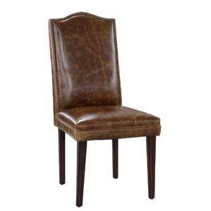 Leather Side Chair by Lazz..
