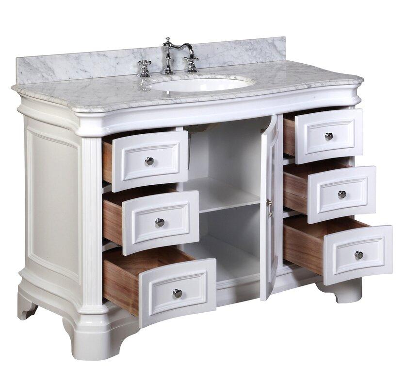 Kbc Katherine 48 Single Bathroom Vanity Set Reviews Wayfair