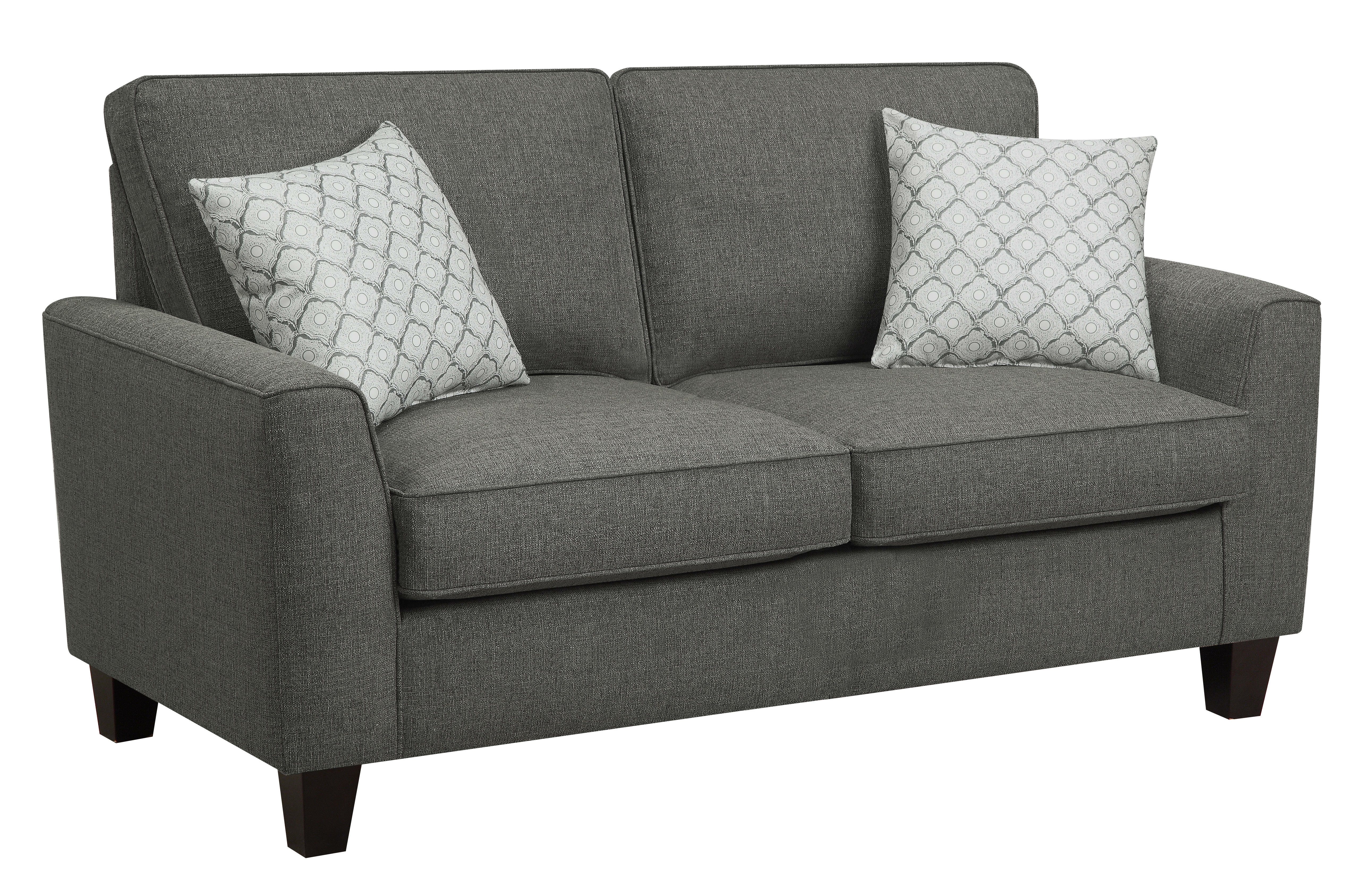 loveseat sectional measurements with sofa family pin contemporary small room look