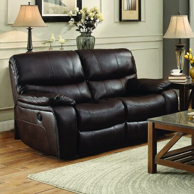 Faux Leather Reclining Loveseats You Ll Love In 2019 Wayfair