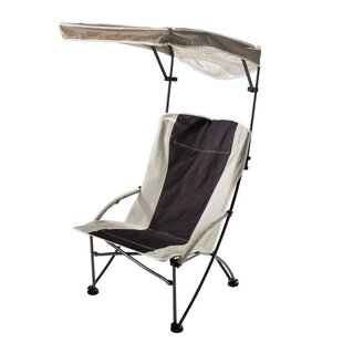 Shade Folding C&ing Chair  sc 1 st  Wayfair & Canopy Beach u0026 Lawn Chairs Youu0027ll Love | Wayfair