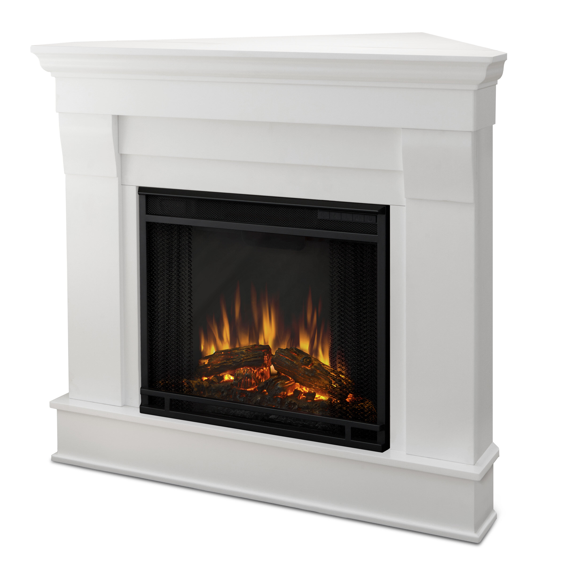 Real Flame Chateau Corner Electric Fireplace Reviews Wayfair