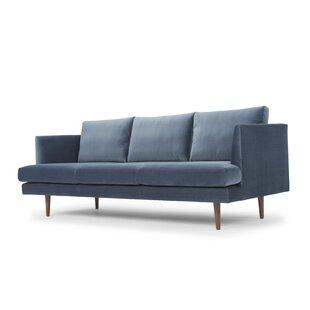 Modern Contemporary Taylor Velvet Sofa Allmodern