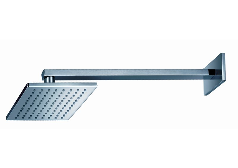 Captivating Safire Wall Mount Rain Shower Head