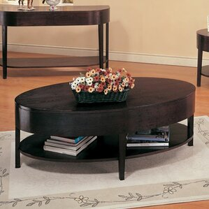Wood Oval Coffee Tables You 39 Ll Love Wayfair
