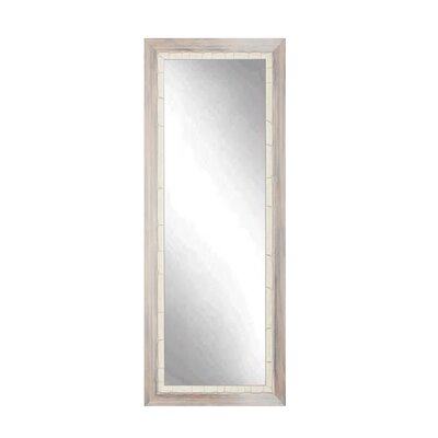 BrandtWorksLLC Weathered Full Length Wall Mirror Size: 71.5 H x 22 W x 1.5 D, Finish: Cream