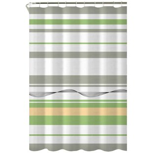 Karma Cotton Shower Curtain