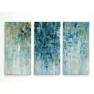 4663bf17ffee  I Love the Rain  Acrylic Painting Print Multi-Piece Image on Gallery  Wrapped Canvas