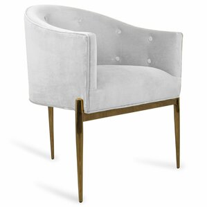Art Deco Upholstered Dining Chair by ModS..