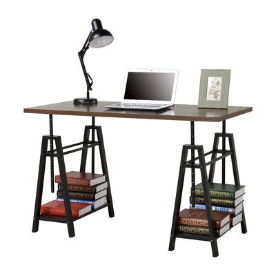 Tyne Adjustment Height Standing Desk Reviews Joss Main