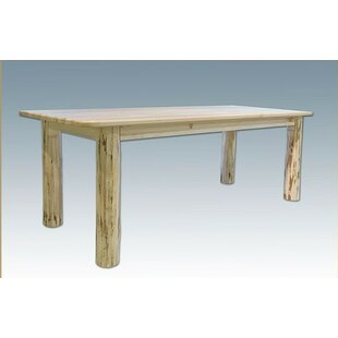 Tustin 4 Post Solid Wood Dining Table