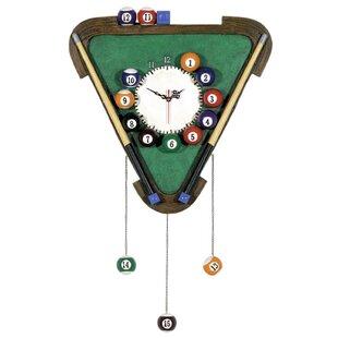 Cleaves Billiards Wall Clock