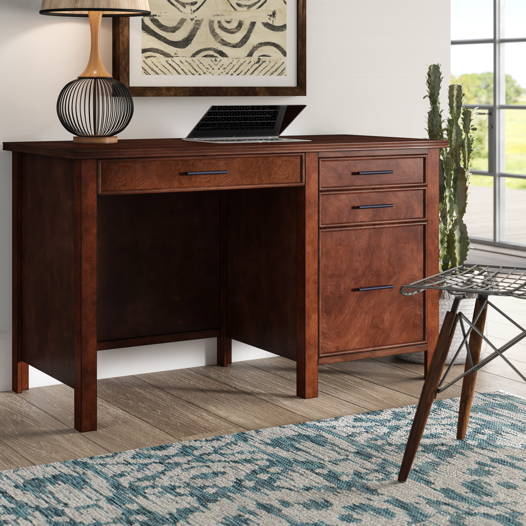 Mistana Yoselin Credenza Desk U0026 Reviews | Wayfair
