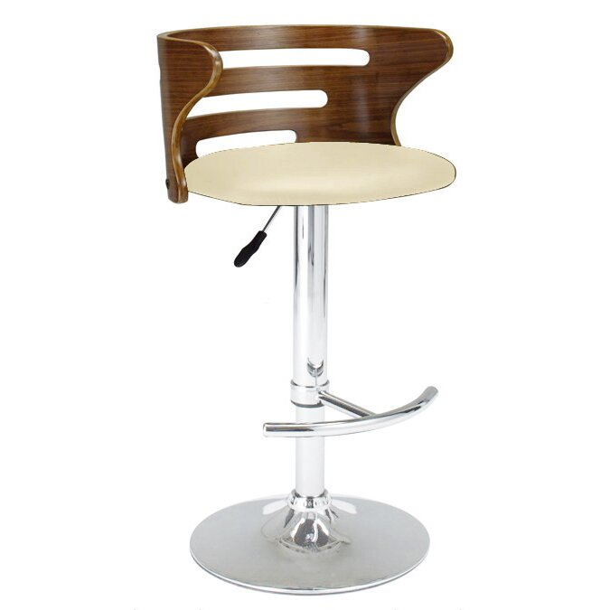 Creative Images International Adjustable Height Swivel Bar