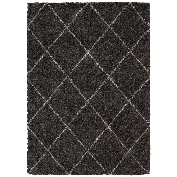 Good Mercury Row Psyche Charcoal Area Rug U0026 Reviews | Wayfair