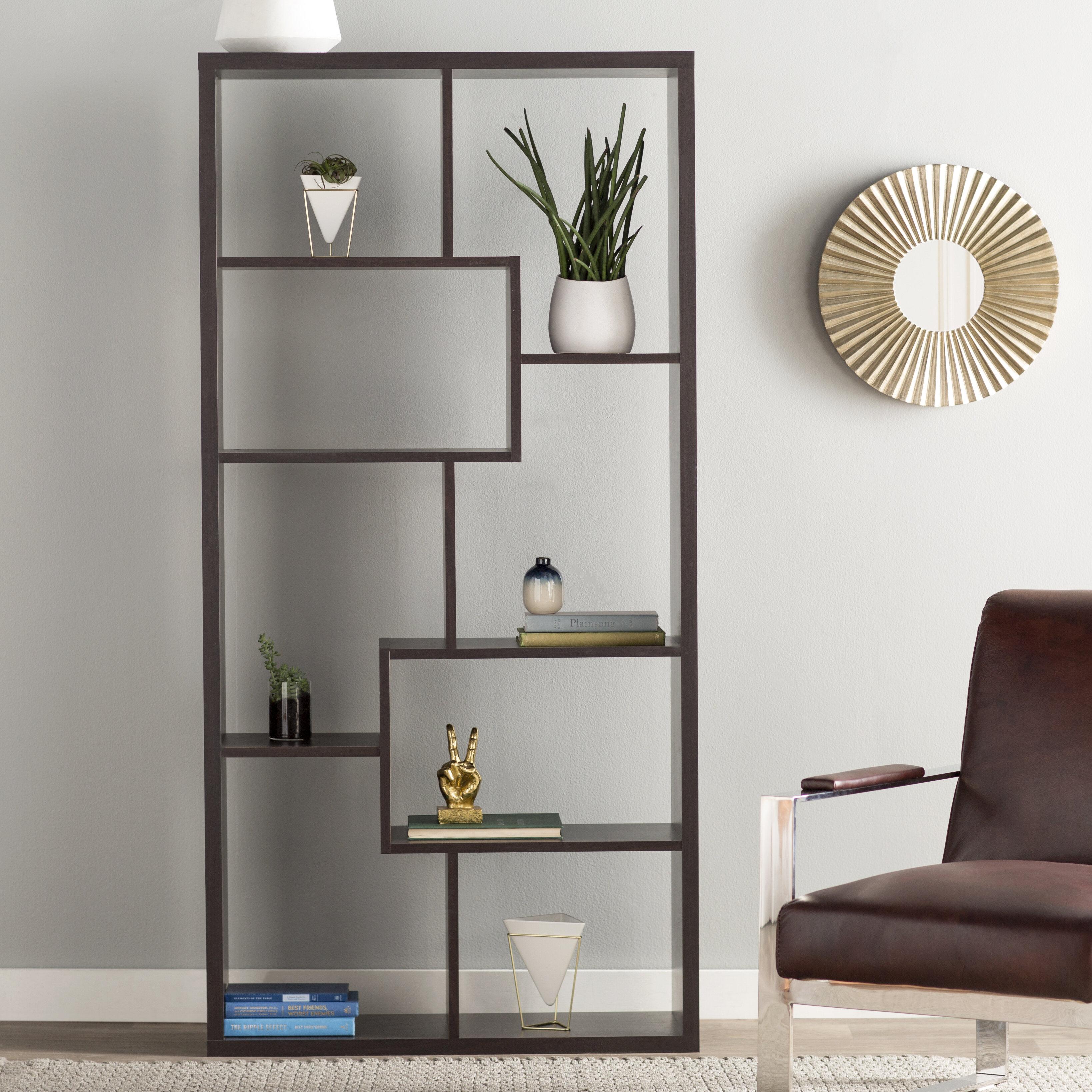 Ervin Geometric Bookcase