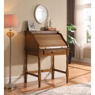 4c7ffbe52019 Angeline Secretary Desk with 4 Drawer File Cabinet