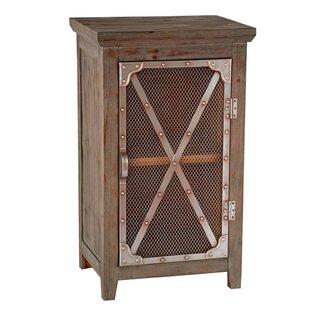 Nealy Chicken Wire Cabinet