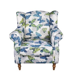 Superior Juliette Butterfly Wingback Chair