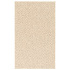 New Zealand Wool Country Beige Area Rug